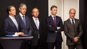 VVD PvdA D66 ChristenUnie SGP